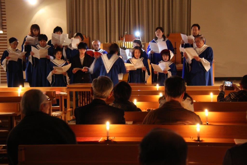 若松バプテスト教会クリスマス礼拝とイブ礼拝の報告のイメージ