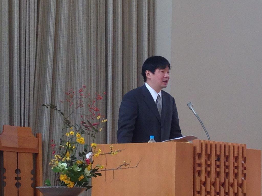 特別伝道集会の報告のイメージ