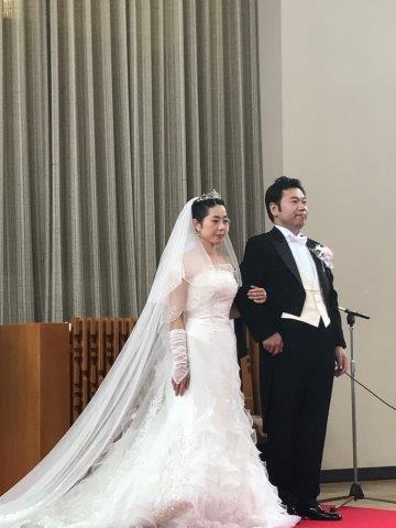 10月7日(土)の結婚式のイメージ