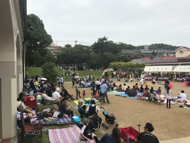 神愛幼稚園の運動会のイメージ