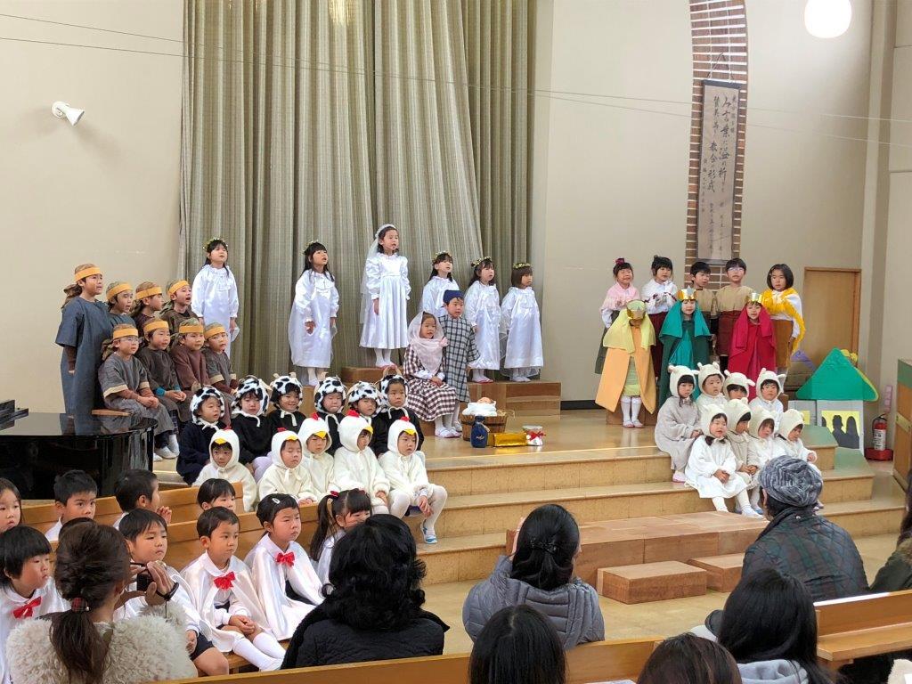 若松キリスト教連合クリスマス会のお知らせのイメージ